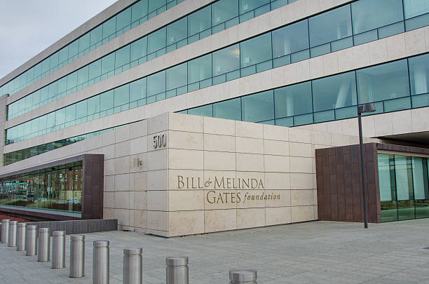 Bill and Melinda Gates Foundation in Seattle, Washington stock photo