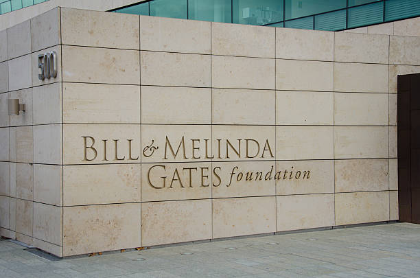 Bill and Melinda Gates Foundation stock photo