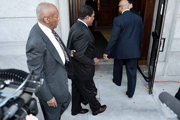 Bill Cosby sexual assault case heads to trail stock photo