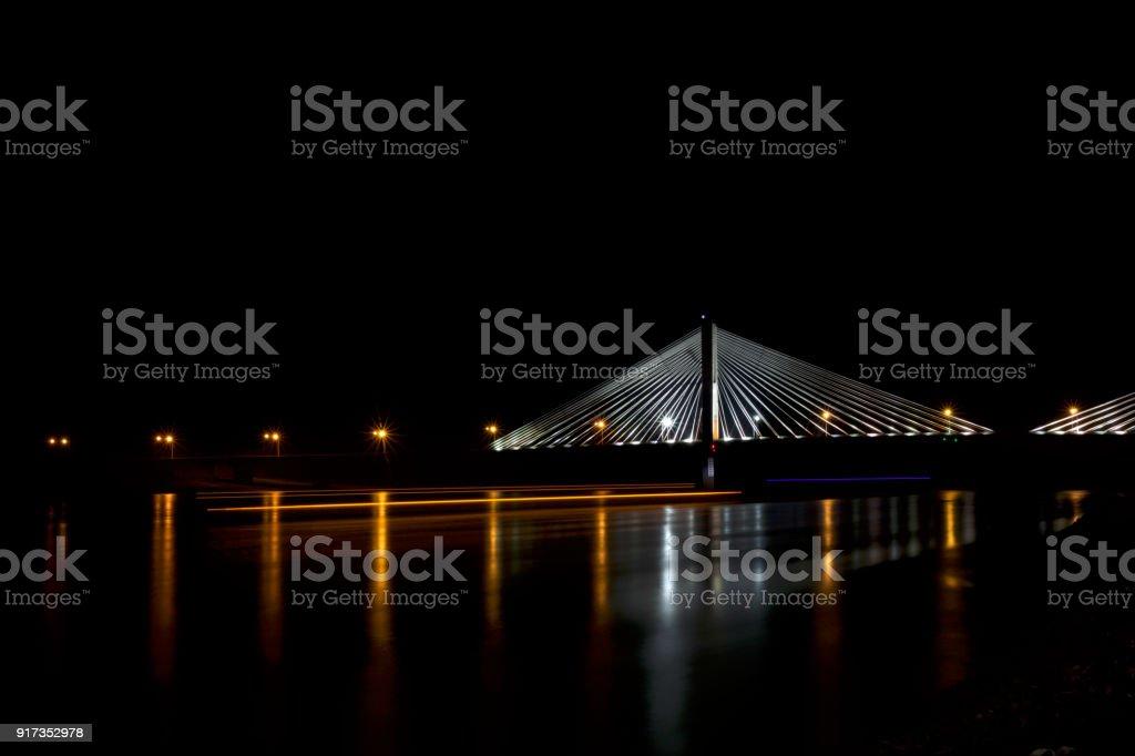 Bill Emerson Memorial Bridge stock photo