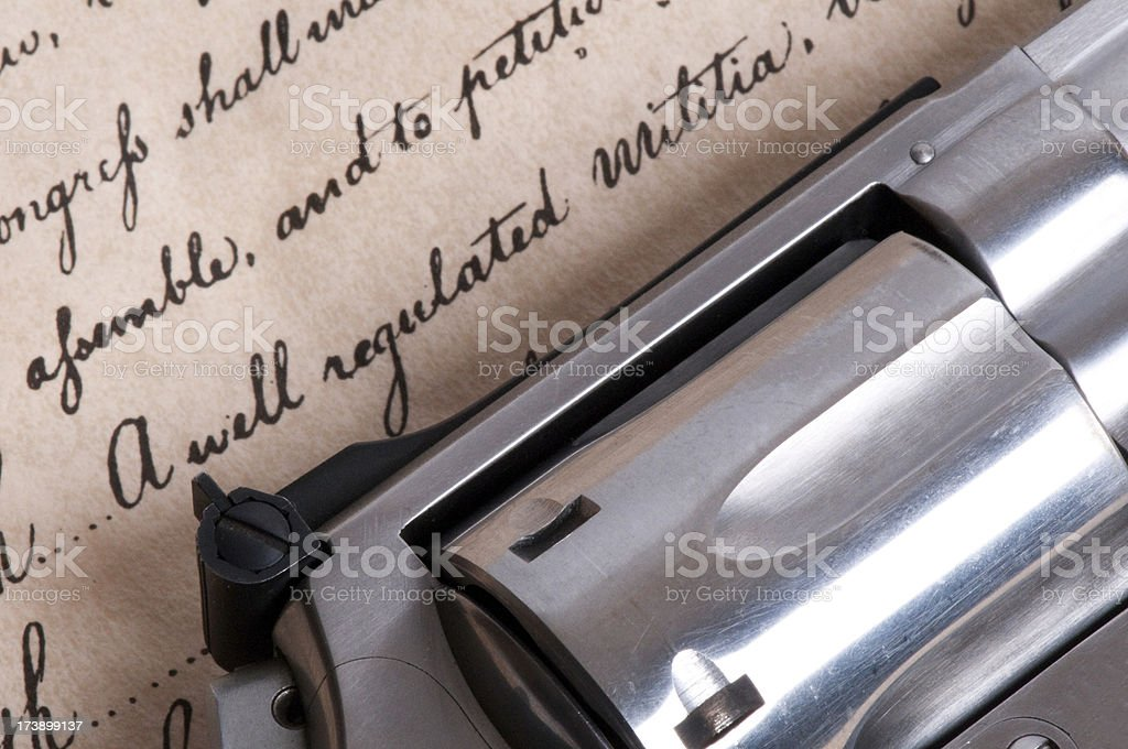 Bill of Rights royalty-free stock photo