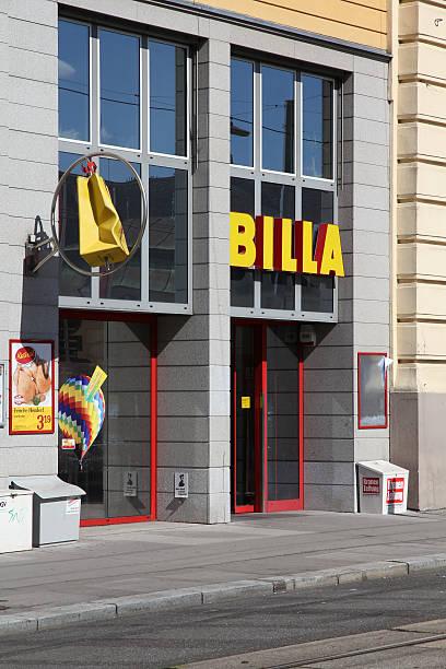 billa-shop - rewe supermarket stock-fotos und bilder