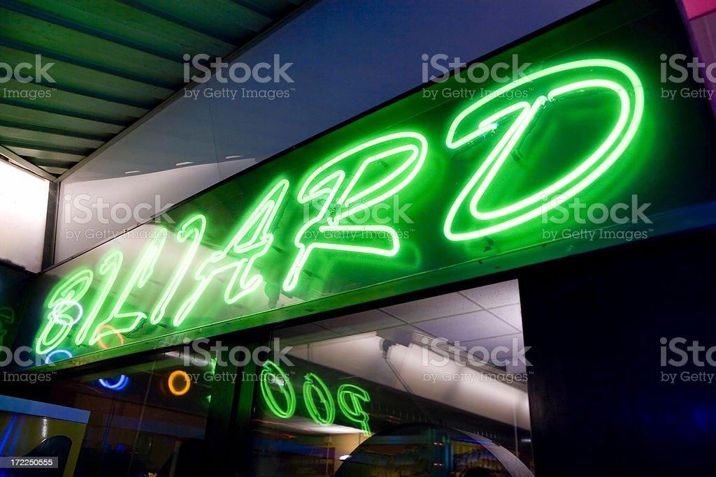 Billard sign