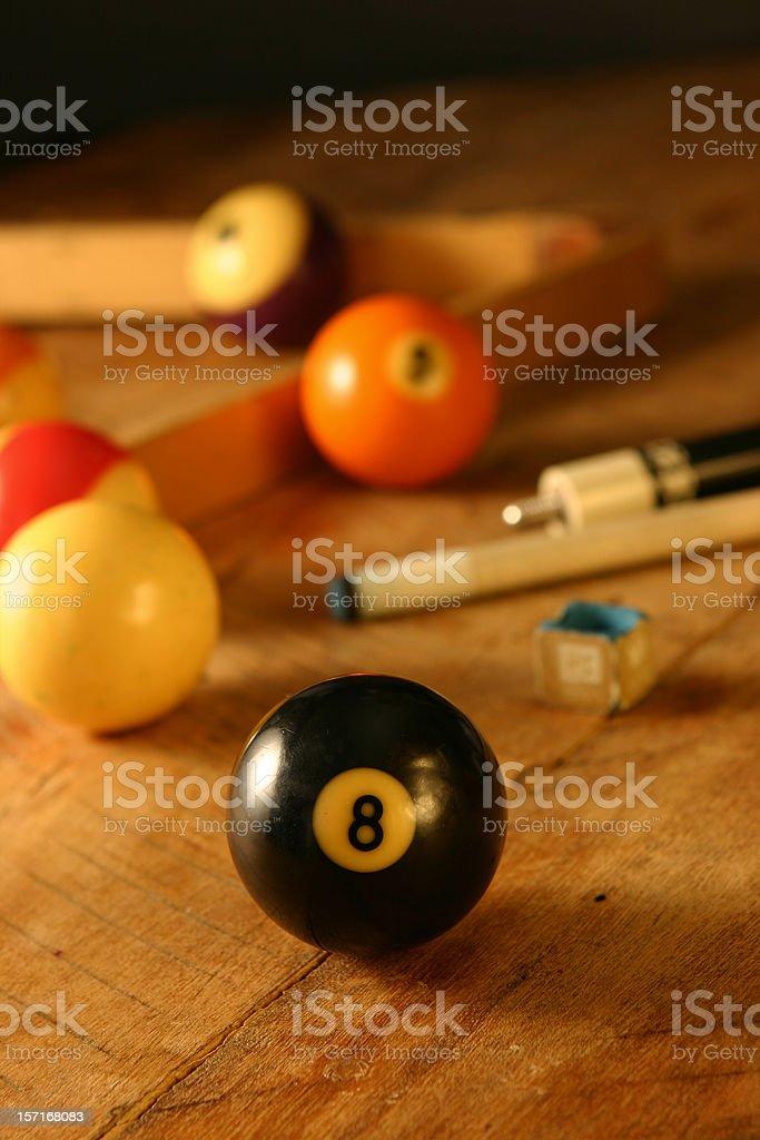 Billards - 8 Ball stock photo