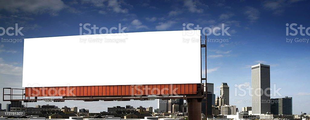 Billboard 2 stock photo