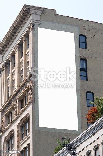istock Billboard advertisement space in Manhattan New York 172290548