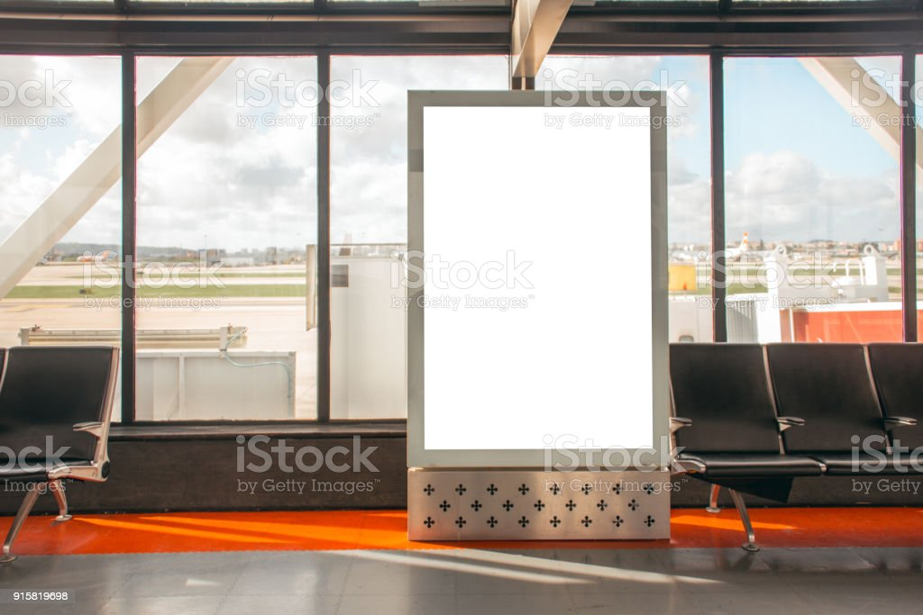 Panneau d'affichage à l'aéroport - Photo