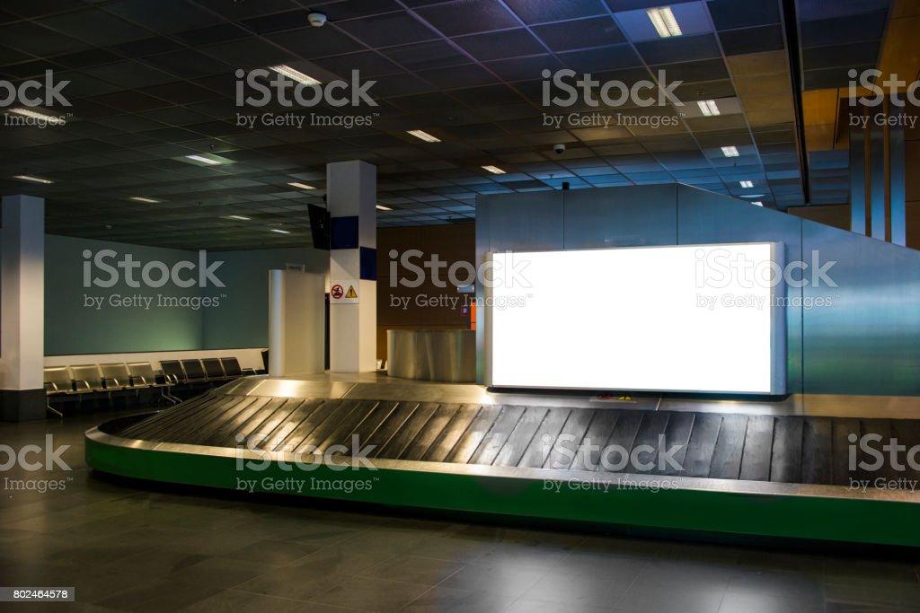 Panneau d'affichage à bagages - Photo