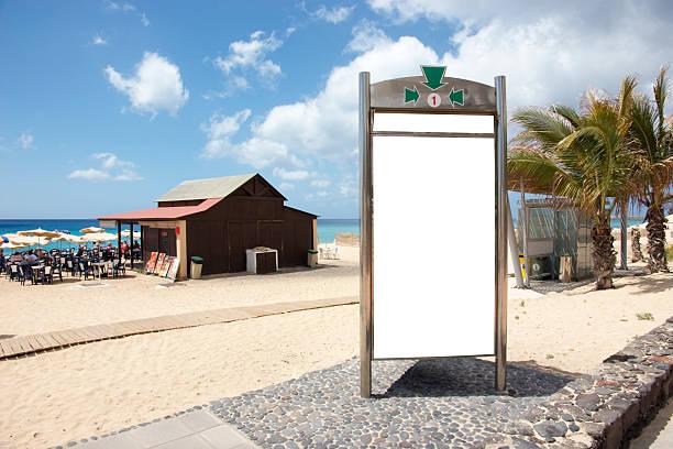 billboard-insel fuerteventura - trennungssprüche stock-fotos und bilder