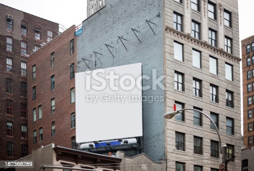 istock Billboard in New York City 182368289