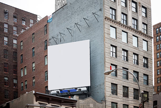Billboard in New York City Billboard in New York City billboard stock pictures, royalty-free photos & images