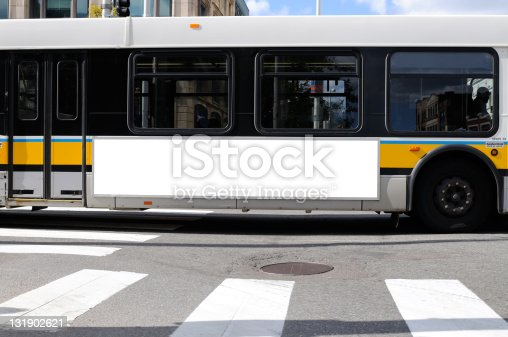 istock Billboard on Bus Side 131902621