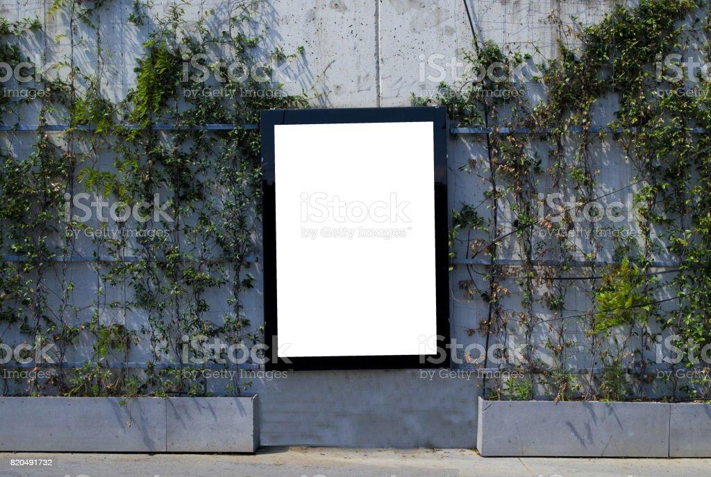 Panneau d'affichage sur la rue - Photo