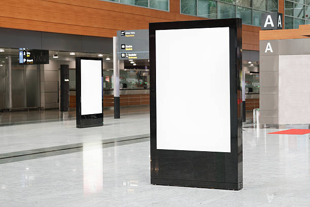 billboard - retail display stock photos and pictures