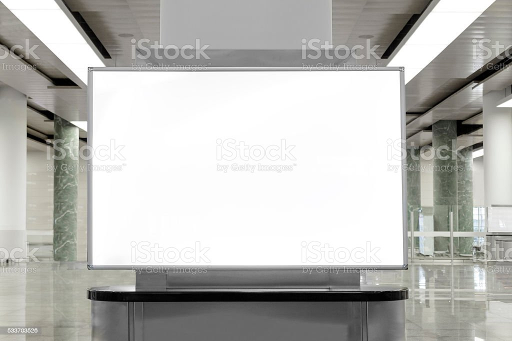 Billboard stock photo