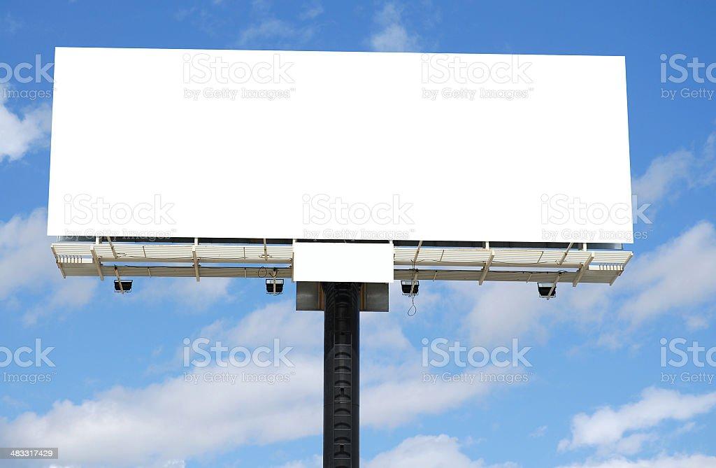 Billboard series royalty-free stock photo