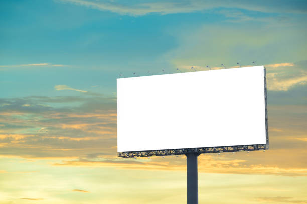 billboard sky - disdainful stock pictures, royalty-free photos & images