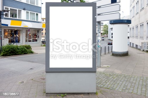 istock Billboard With Clipping Path 180738877