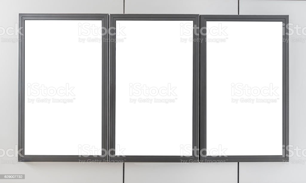 Billboards display - foto stock