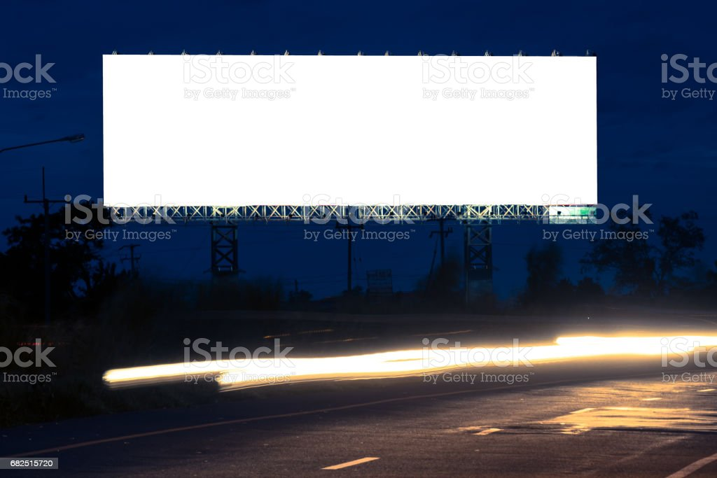 billboards royalty-free stock photo