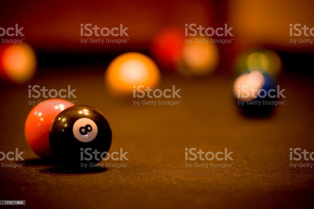 Billiard Balls royalty-free stock photo