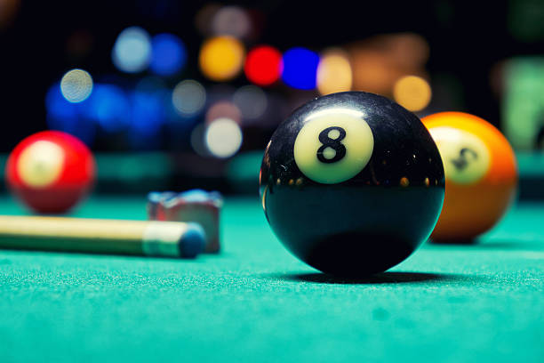 Royalty Free Pool Table Pictures Images And Stock Photos IStock - How many balls on a pool table