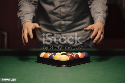 istock Billiard balls 679784288