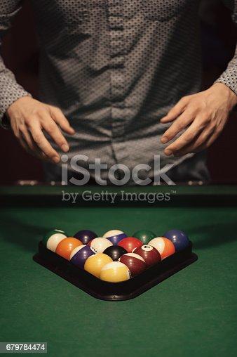 istock Billiard balls 679784474
