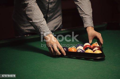 istock Billiard balls 679784978