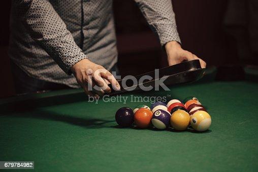istock Billiard balls 679784982