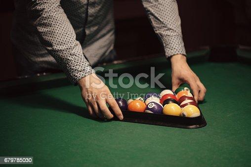 istock Billiard balls 679785030