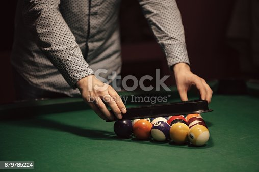 istock Billiard balls 679785224