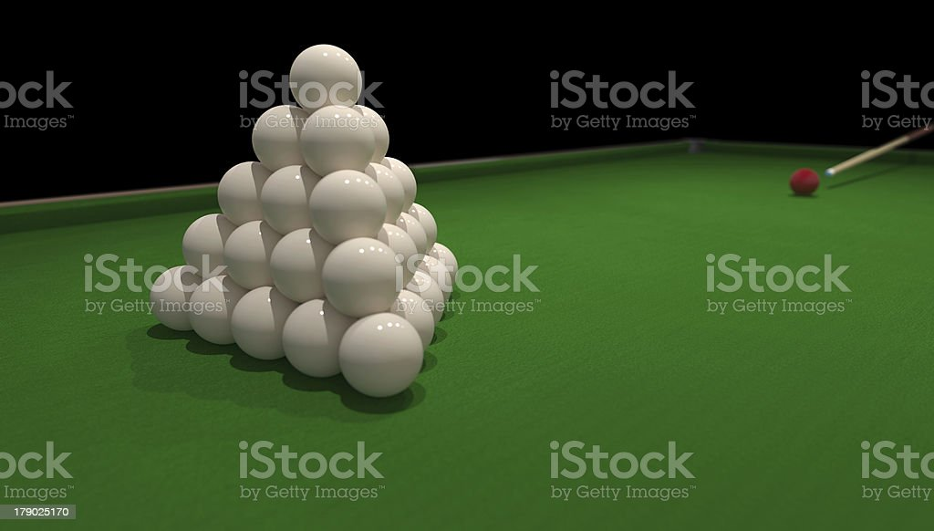 billiard concept royalty-free stock photo