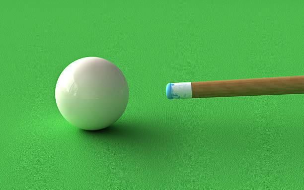 billiard - pool cue stock photos and pictures