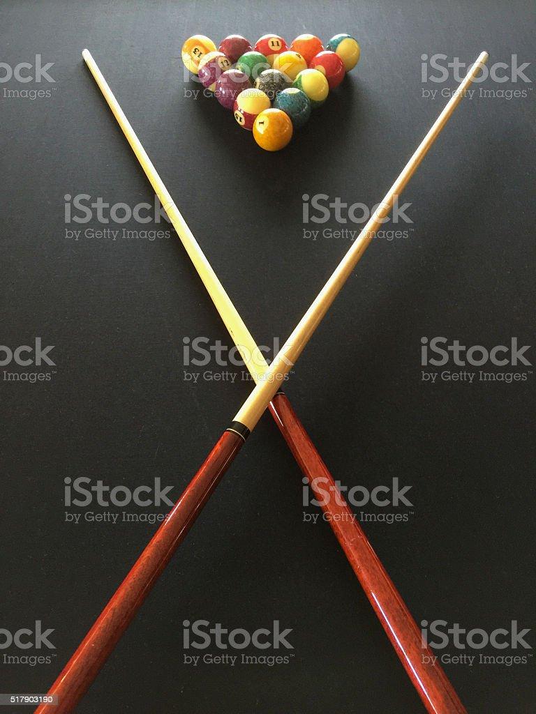 Billiard Pool stock photo