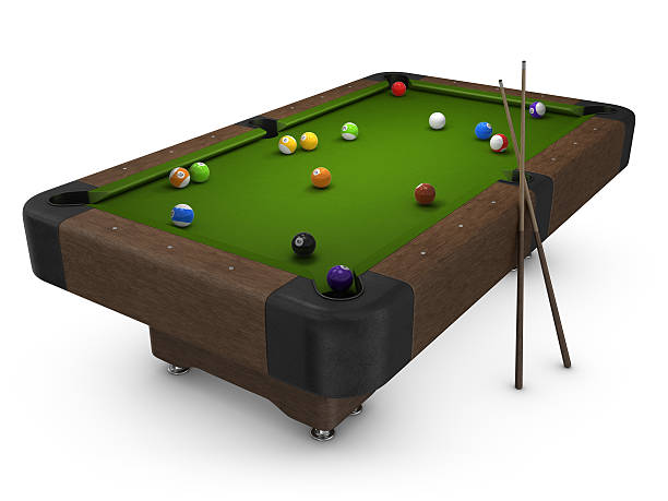 Pool table pictures images and stock photos istock for Pool table 6 x 3