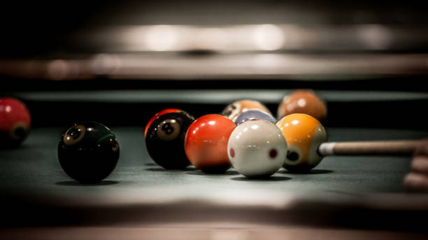 billard - cue ball stock pictures, royalty-free photos & images