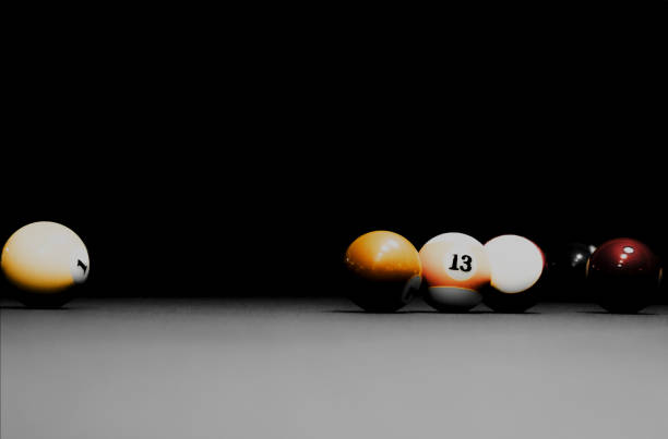 billard - pool cue stock photos and pictures