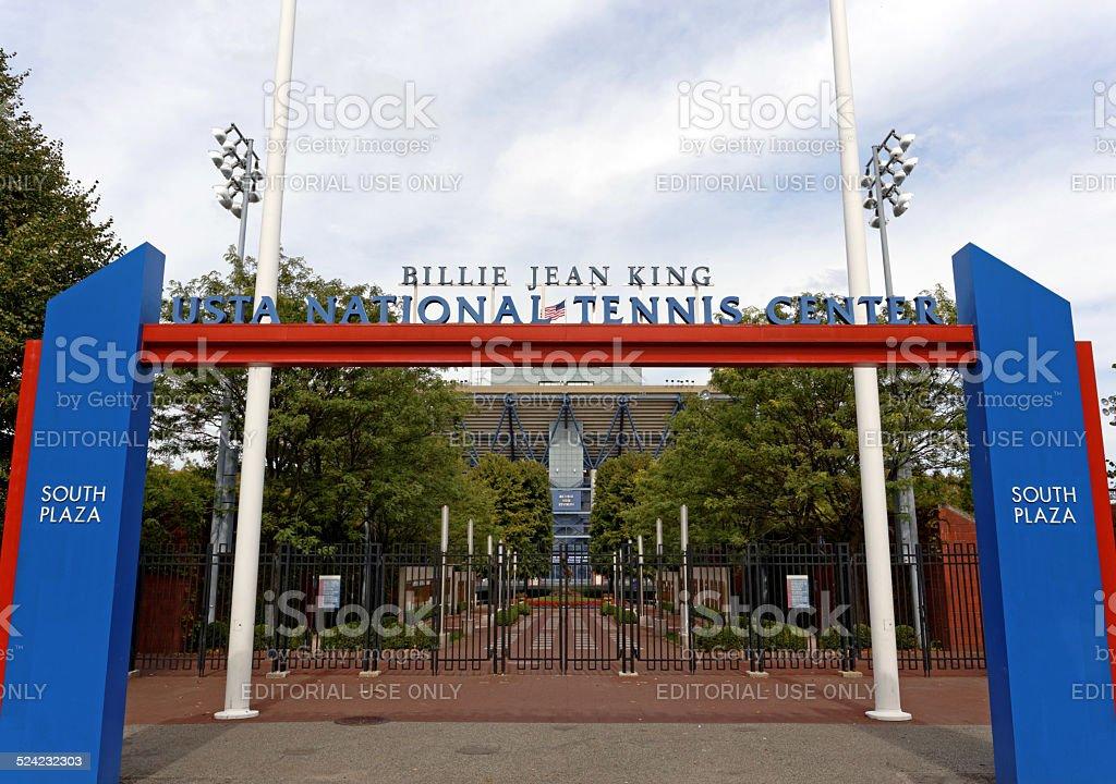 USTA Billie Jean King National Tennis Center stock photo