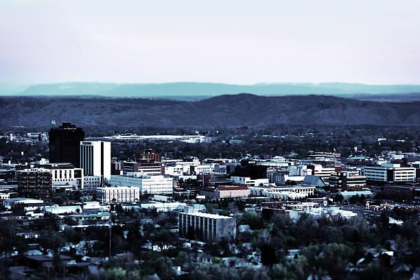 Billings Montana stock photo