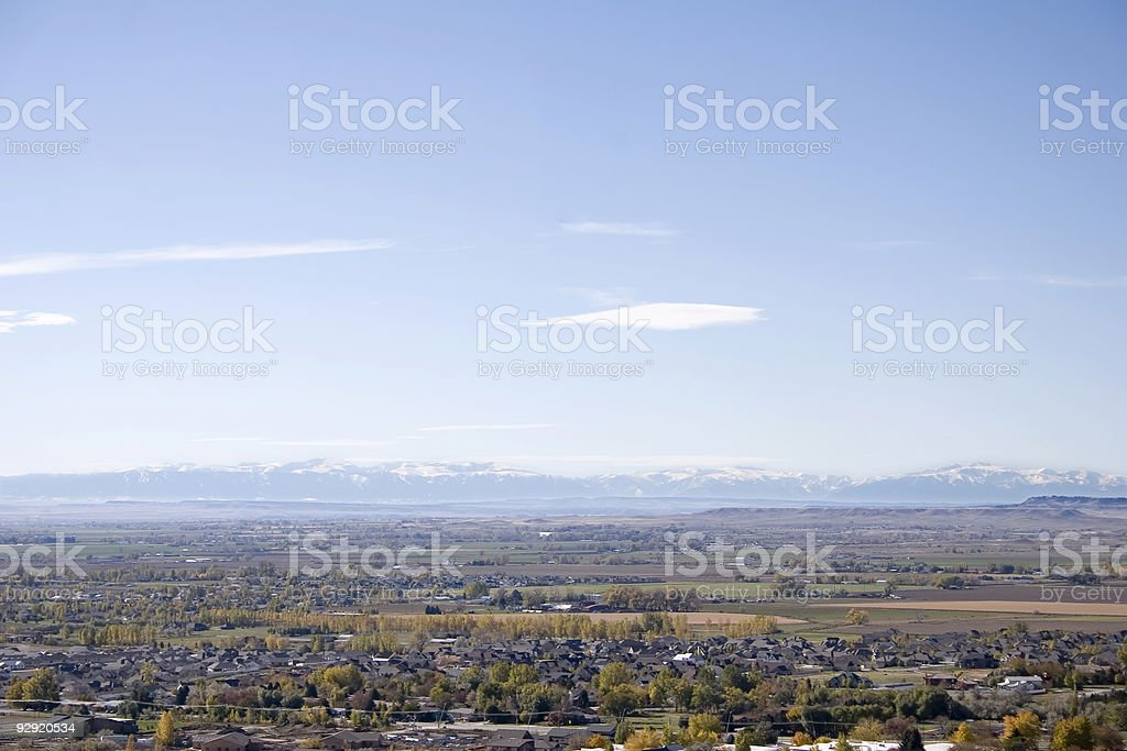 Billings, Montana stock photo