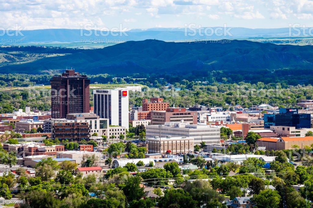 Billings, Montana stock photo