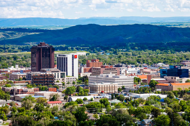 billings, montana - montana western usa stock pictures, royalty-free photos & images