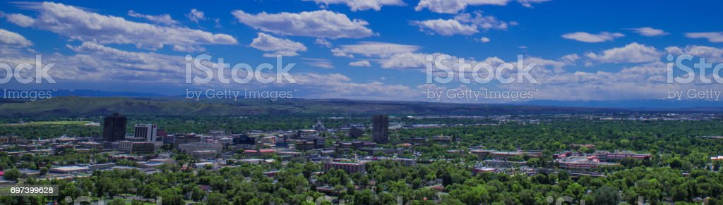Billings, MT stock photo