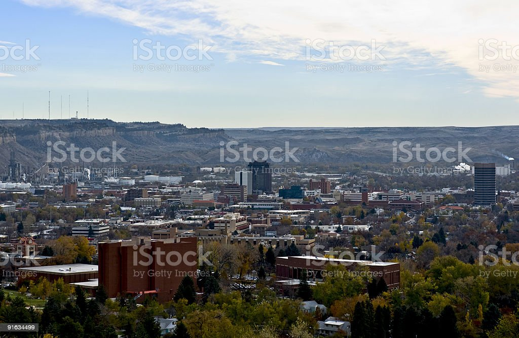Billings stock photo