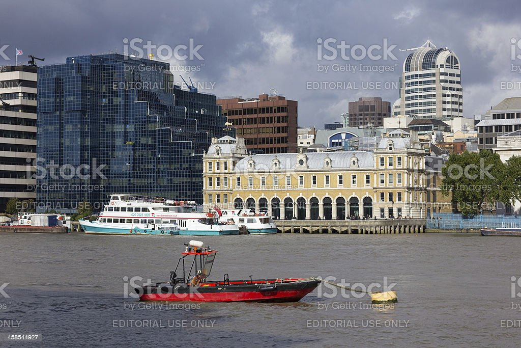 Billingsgate Fish Market in London, England royalty-free stock photo