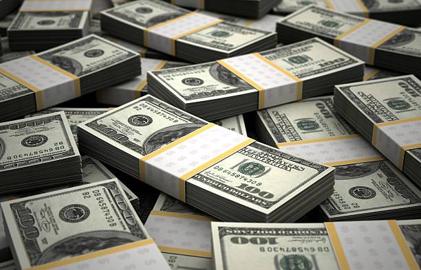 Billion Dollars stock photo