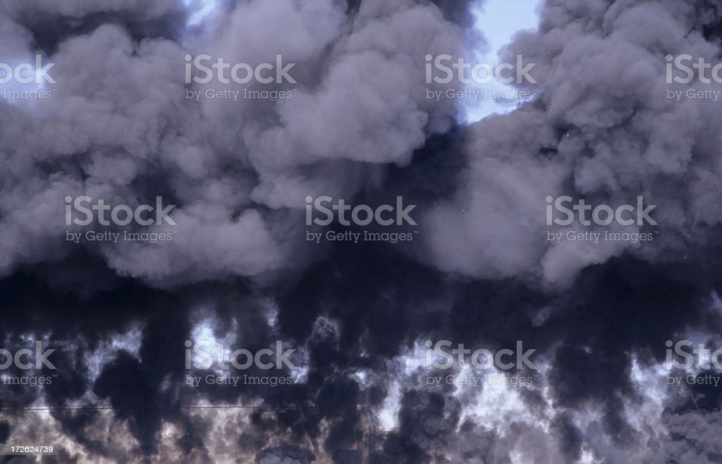Billowing Smoke royalty-free stock photo