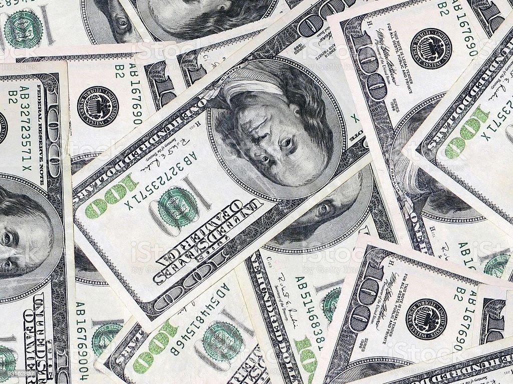 bills 2 royalty-free stock photo