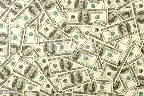 istock $100 bills background 157168369